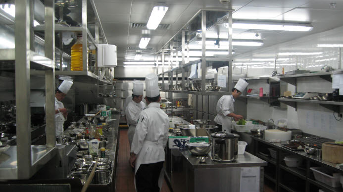 Dalian New World Hotel Kitchen